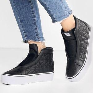 6235e7ef41417c Vans Shoes - VANS X KARL LAGERFELD SK8-HI LACELESS SKATE SHOES